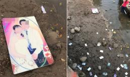 Vợ bỏ nhà theo trai, chồng đem toàn bộ ảnh cưới vứt xuống sông nhưng lại bị dân mạng chỉ trích vì điều này