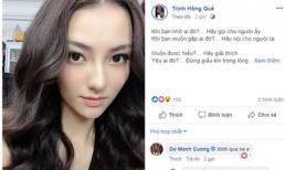 Hồng Quế tiếp tục 'hack não' công chúng khi tuyên bố nhớ ai đó