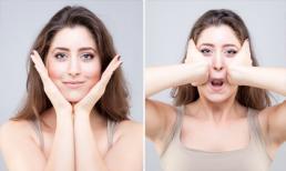 Bài tập 9 bước giúp loại bỏ mỡ mặt cấp tốc và chống nếp nhăn