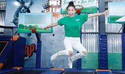 Thời tiết nắng nóng 35 độ C, Ngô Thanh Vân vẫn nhiệt tình bay nhảy không biết mệt