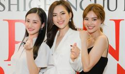 Bộ ba 'ngọc nữ màn ảnh Việt' lần đầu chạm mặt cùng những khoảnh khắc đốn tim fan