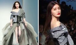 """Không kém cạnh người mẫu, """"Phú Sát Hoàng hậu"""" Tần Lam trổ tài catwalk đỉnh cao trên sàn diễn thời trang"""
