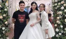 Quang Hải, Nhật Lê đi đám cưới, fan lại được dịp ủng hộ nhiệt tình cho cặp đôi