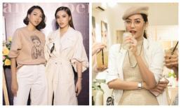 Kỳ Duyên 'tình tứ' bên Minh Triệu, Lan Khuê nổi bật với style lạ