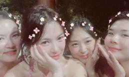 Song Hye Kyo diện đồ 'thiếu vải' khoe làn da nõn nà, cực thân thiết với 'tiểu tam tin đồn'