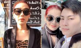Sang Pháp du lịch cùng chồng trẻ, Lâm Khánh Chi được fan 'nhắc nhở' ngay về cách ăn mặc