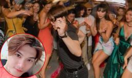 Sau thời gian im ắng vì ồn ào với vợ cũ, Lâm Vinh Hải 'tái xuất' nhảy tưng bừng trong sinh nhật bạn thân