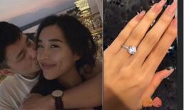 Bạn gái Huỳnh Anh khoe nhẫn kim cương ngón áp út, dân mạng nghi sắp 'có biến'