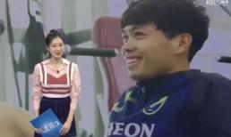 Công Phượng tiết lộ về những thú vị tại K-League trên sóng truyền hình Hàn Quốc