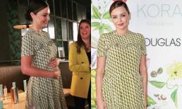 Hiếm ai như Miranda Kerr: Lộ dáng béo lên mà vẫn lộng lẫy hết phần người khác nhờ khéo sửa váy để tôn vóc dáng