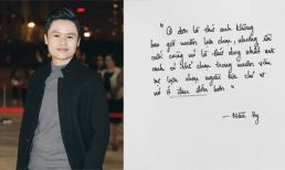 Phan Thành tiếp tục tâm trạng: 'Cô đơn là thứ anh không bao giờ muốn lựa chọn'
