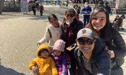 Mẹ con Mai Phương đi du lịch cùng gia đình diễn viên Huỳnh Đông ở Nhật Bản
