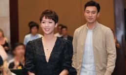 Ngôi sao TVB Thái Tư Bối và Đàm Tuấn Ngạn chiếm tâm điểm khi đến Việt Nam quảng bá phim