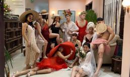 Dân mạng 'cười vỡ bụng' vì buổi tiệc mặc đầm ngủ nữ của hội bạn thân Hoàng Ku