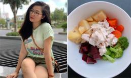 Bà xã Huy Khánh bật mí chế độ ăn giúp 3 tuần giảm 3 kg
