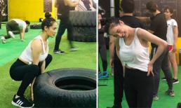 Sau nghi vấn sinh con chưa hết cữ, Nhã Phương bất ngờ đi tập Gym lấy lại vóc dáng