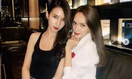 Hoa hậu Hương Giang và 'thần tiên tỉ ti' Thái Lan Yoshi trông như sinh đôi với góc ảnh thần thánh