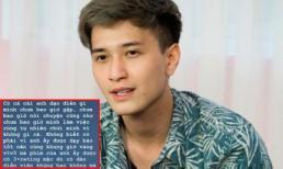 Diễn viên Huỳnh Anh đáp trả khi bị đạo diễn chưa gặp bao giờ nói 'mất dạy'