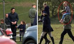 Lần đầu lộ diện sau tin đồn ngoại tình, Hoàng tử William thể hiện sự xa cách với Công nương Kate và 2 con