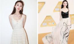 'Ngụy Anh Lạc' Ngô Cẩn Ngôn gây ấn tượng với phong cách gợi cảm tại lễ trao giải ở Singapore