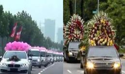 Khi vô tình xe cưới gặp xe tang, xe nào nên nhường đường trước