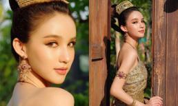 Cận cảnh thần sắc như 'tiên cánh bướm' của 'thần tiên tỷ tỷ' Thái Lan khi diện Quốc phục