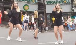 'Thiên thần Nga' bất ngờ tái xuất ấn tượng trên phố đi bộ Hà Nội