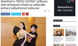 Báo Thái ca ngợi Á hậu Ngọc Quỳnh là siêu sao của Việt Nam