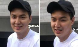 Chỉ còn 1 tuần nữa xuất ngũ, Lee Min Ho tăng cân mũm mĩm