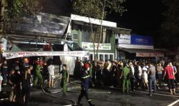 Cháy cửa hàng mua bán xe máy điện, 3 người trong một gia đình thiệt mạng