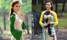 Lụa Phương Mai đưa sen lên áo dài tại Festival Nghề truyền thống Huế 2019