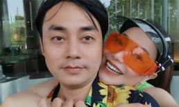 Trà Ngọc Hằng thân thiết với 'tình cũ 10 năm' khi tham gia lễ hội té nước ở Thái Lan