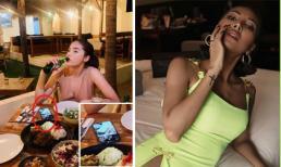 Hoa hậu Kỳ Duyên bị soi để hình nền điện thoại là ảnh của 'người tình tin đồn' Minh Triệu