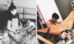Sao Việt 22/4/2019: Hồ Ngọc Hà xúc động khi đến thăm cô bạn thân đang bị bệnh, Lâm Khánh Chi đăng ảnh chồng ru con ngủ