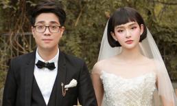Bùi Anh Tuấn bẽn lẽn hôn Hiền Hồ trong ngày cưới
