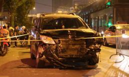 Tai nạn kinh hoàng: 'Xe điên' đâm loạn xạ trong đêm, 1 công nhân môi trường tử vong, người bị thương nằm la liệt