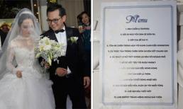 NSND Trung Hiếu đãi khách món gì trong đám cưới diễn ra tại Hà Nội?