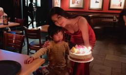 Ngọc Quyên xinh đẹp đón tuổi 31 bên con và bạn bè sau biến cố ly hôn chồng