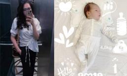 Sinh con lần 2 vừa tròn tháng, Ngọc Thạch đã khoe thân hình thon gọn đáng kinh ngạc
