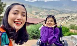 Mai Phương ngồi xe lăn đi khám phá Bhutan cùng Ốc Thanh Vân