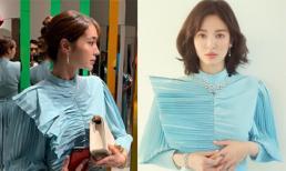 Hiếm lắm mới thấy Lee Min Jung đụng váy với tình cũ của chồng, nhưng sao vẫn mất điểm trước Song Hye Kyo vì 1 chi tiết