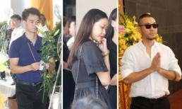 Dàn nghệ sĩ không giấu nổi đau buồn, nghẹn ngào đến viếng Như Hương