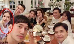 Liz Kim Cương công khai xuất hiện trong tiệc sinh nhật Trịnh Thăng Bình