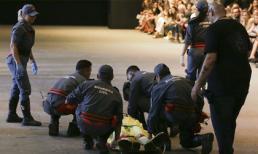 Người mẫu 26 tuổi đột tử sau khi vấp ngã trên sàn catwalk