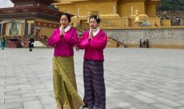 Ốc Thanh Vân kể về Mai Phương trong chuyến đi Bhutan: 'Khi em tôi đứng cầu nguyện, bất giác tôi bật khóc. Em tôi khóc'