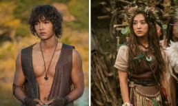 Song Joong Ki lại gây sốt với thân hình lực lưỡng, Kim Ji Won xứng danh công chúa rừng xanh