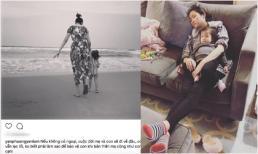 Vợ Lam Trường lại chia sẻ tâm trạng: 'Nếu không có ngoại, cuộc đời mẹ và con sẽ đi về đâu?'