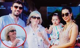 Tâm lý như mẹ chồng siêu mẫu Hà Anh: Con dâu ra mắt BST áo tắm, bà bế cháu đến ủng hộ