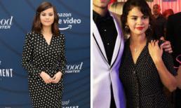 Mặc đầm chấm bi gần 100 triệu đồng, Selena Gomez bị lôi ảnh cũ ra so sánh