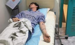Erik sốt 39,5 độ phải nhập viện, hủy mọi chương trình vì lý do sức khỏe